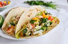 Crispy Shrimp Tacos I howsweeteats.com