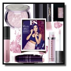 """Instant Pink"" by gracecar3 ❤ liked on Polyvore featuring beauty, Bésame, Yves Saint Laurent, Coleman, By Terry, Bare Escentuals, Cover FX and Bobbi Brown Cosmetics"
