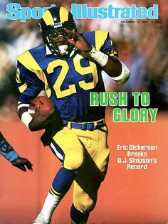 Sports Illustrated. 1984. Eric Dickerson