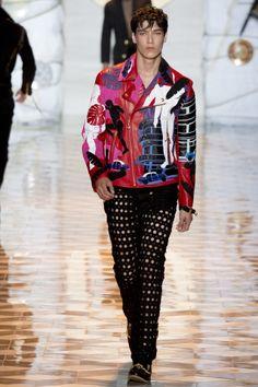 Versace, spring/summer 2015 menswear