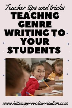 Tired of the same old narrative writing prompts for elementary? Use genre writing as a fun writing activity to teach narrative writing! Students will love analyzing different genres, encouraging them to read different genre books! #iteach5th 6th Grade Activities, Fun Writing Activities, Classroom Activities, Teaching Narrative Writing, Opinion Writing, Math Early Finishers, 5th Grade Classroom, Writing Assignments, Free Teaching Resources