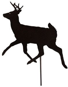 Outdoor Garden Stakes - Deer Hunting - Made USA . $9.99
