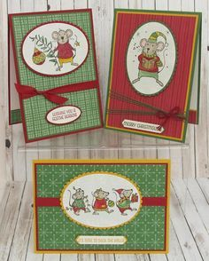 Stampin' Up! - More ..... Merry Mice .... Teri Pocock - http://teriscraftspot.blogspot.co.uk/2016/09/more-merry-mice.html