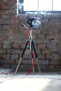 Urban Light Factory | Repurposed vintage motorcycle and car headlights into home…