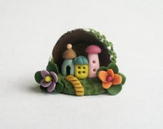 Miniature Whimsical Two Story Petite Fairy by ArtisticSpirit