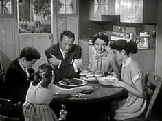 The Nov. 21, 1954 show featured the Anderson family: Jim and Margaret and