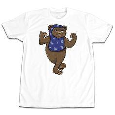 'Hard Wok' T-Shirt (White) @hutchlosangeles #BleuAndCream #BenjieEscobar #StarWars #Ewok