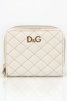 D Ladies' Lily Glam French Wallet In White