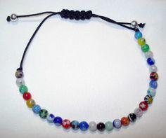 Murano glass bracelet Beaded bracelet Murano by PrintCorner
