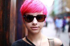love this pink hair