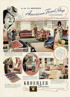 1940s kroehler furniture flickr photo sharing - Kroehler Furniture