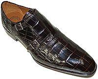 Mezlan Platinum Custom # 3724 at AlligatorWorld.com - Exotic Skin Shoes