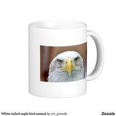 White tailed eagle bird animal coffee mug