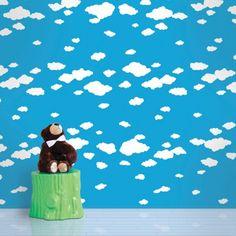 WallCandy Arts Wallpaper: Clouds - Children