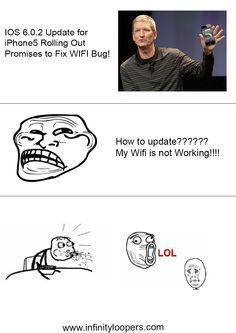 New IOS Update will Fix Wifi Bug! Oh Man!!!! My OTA Has