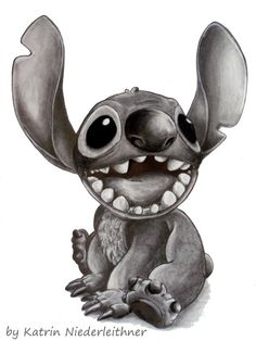Disney's Stitch by Cathy86.deviantart.com on @deviantART