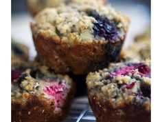 Coconut Flour Blueberry Muffins | Easy Healthy Breakfast Recipes for Kids | Paleo Breakfast Recipes