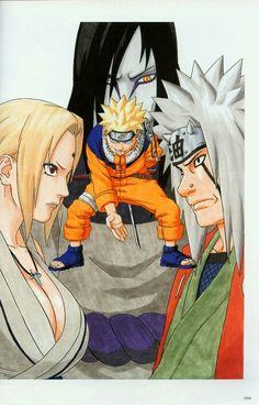 Naruto Uzumaki ArtBook 1 - 090