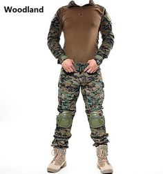 Practical Frog Tops Long-sleeved Camouflage Shirt Military Us Army Combat Clothing Multicam Airsoft Paintball Clothes Tactical Shirts Commodities Are Available Without Restriction Orologi E Gioielli