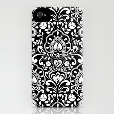 Black Tie iPhone Case by Diane Kappa | Society6