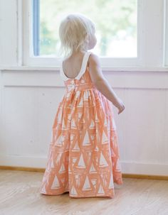 Baby Molly's Scoop Collar & Pintuck Top, Dress & Maxi. PDF sewing patterns for baby sizes NB-24 months. - Simple Life Company
