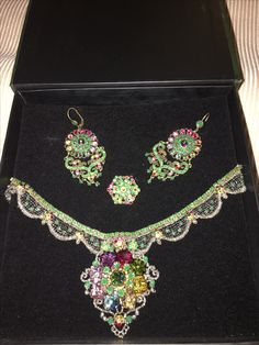 Conjunto michal negrin jewellery