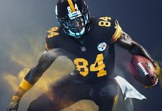 542b94c01 Steelers Color Rush uniforms to host the Ravens Dec. 25 2016 Pittsburgh  Steelers Football