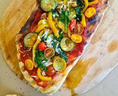 Veggie Supreme Grilled Pizza