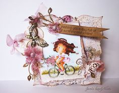 Magnolia-licious and So Much More DT - Bling - Janes Lovely Cards