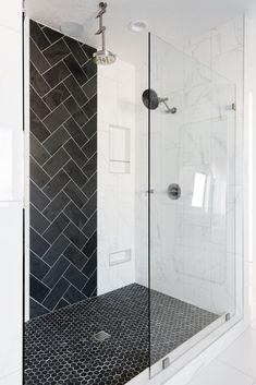 Traverse Mountain Modern Master Bedroom & Bathroom – House of Jade Interiors Blo… – Top Trend – Decor – Life Style Master Bedroom Bathroom, Modern Master Bedroom, Bathroom Sconces, Bathroom Interior, Modern Bathroom, White Bathrooms, Bathroom Inspiration, Bathroom Ideas, Bathroom Inspo
