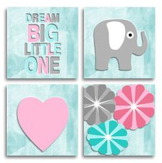 Quadro Decorativo Infantil Dream