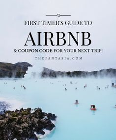 If you've never stayed at an Airbnb before and want to know how to get started and get a COUPON CODE for your first booking, you MUST check out this post!