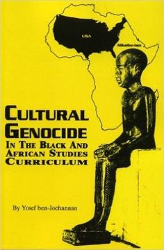 Cultural Genocide by Yosef Ben Jochannan (E-Book) African American Books at United Black Books Black Authors E-Books