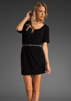 39 SIXTYONE Jersey T-Shirt Dress in Black at Revolve Clothing - Free Shipping!