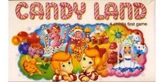 My Candy Land in the 90's. My favorite board game.