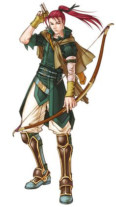 Shinon (FE: Path of Radiance/Radiant Dawn) I like using him as one of my main snipers (besides Rolf). I also like his interactions with the other characters, especially with Rolf as his teacher.