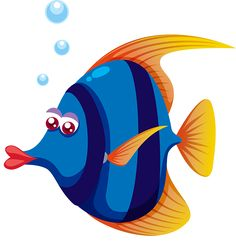 Click this link for some great Christmas labels Cartoon Sea Animals, Cartoon Fish, Cartoon Art, Under The Sea Images, Mermaid Under The Sea, Fish Crafts, Fish Art, Colouring Pages, Sea Creatures