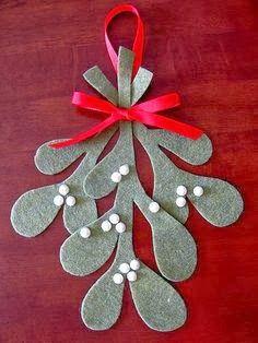 MiiMii - ママと娘のための工芸品:インスピレーションのDIYのクリスマスの飾りfilcu-たくさん。