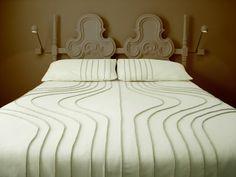 ONION BEDSPREAD BY WALLTER bedding, wool bedspread, onion wool, onions, wallter, queens, onion bedspread, fold bed, duvet