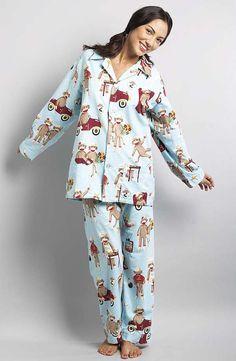 Nick & Nora Sock Monkey Pajamas