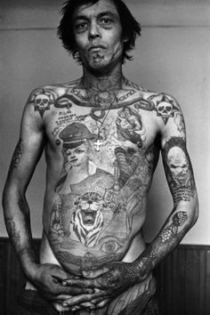 Original Works from the Russian Criminal Tattoo Encyclopaedia - © Sergei Vasiliev. S)