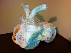 Diaper Tricycle/ I'm A Big Deal by KeepsakeCakes on Etsy, $45.00