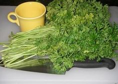 Drink Parsley tea to get your period. If your irregular, havent had it in a while, or just want to postpone/bring it early because of a special occasion coming up. (I have personally tried this, and it works)