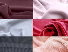 Fiz uma lista dos principais tecidos usados em peças de outono/inverno tanto em alfaiataria quanto em peças esportivas ou de uso diário.Todas as fotos dos tecidos abaixo estão a venda pela interne…