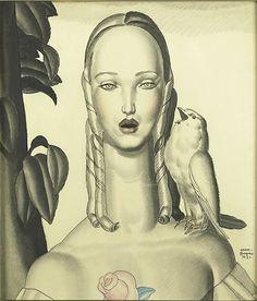 Jean Dupas (French, 1882-1964) at Rago