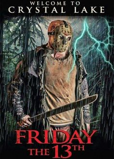 Jason Voorhees-Friday The Horror Icons, Horror Movie Posters, Horror Films, Horror Art, Halloween 1, Halloween Horror, Badass Movie, Horror Movie Characters, Horror Villains