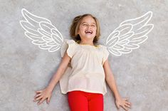 Add wings to spice up that summer photo of your little angel #ilovesnapfish