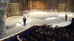 David Rockwell set design for the 82nd Academy Awards