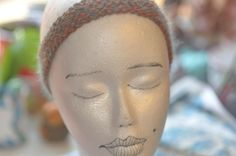 Woman's headband by jfaypaperdolls on Etsy
