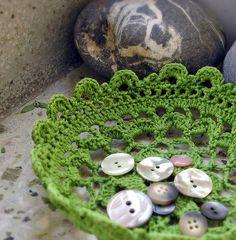 Yukicat - Crocheted bowl